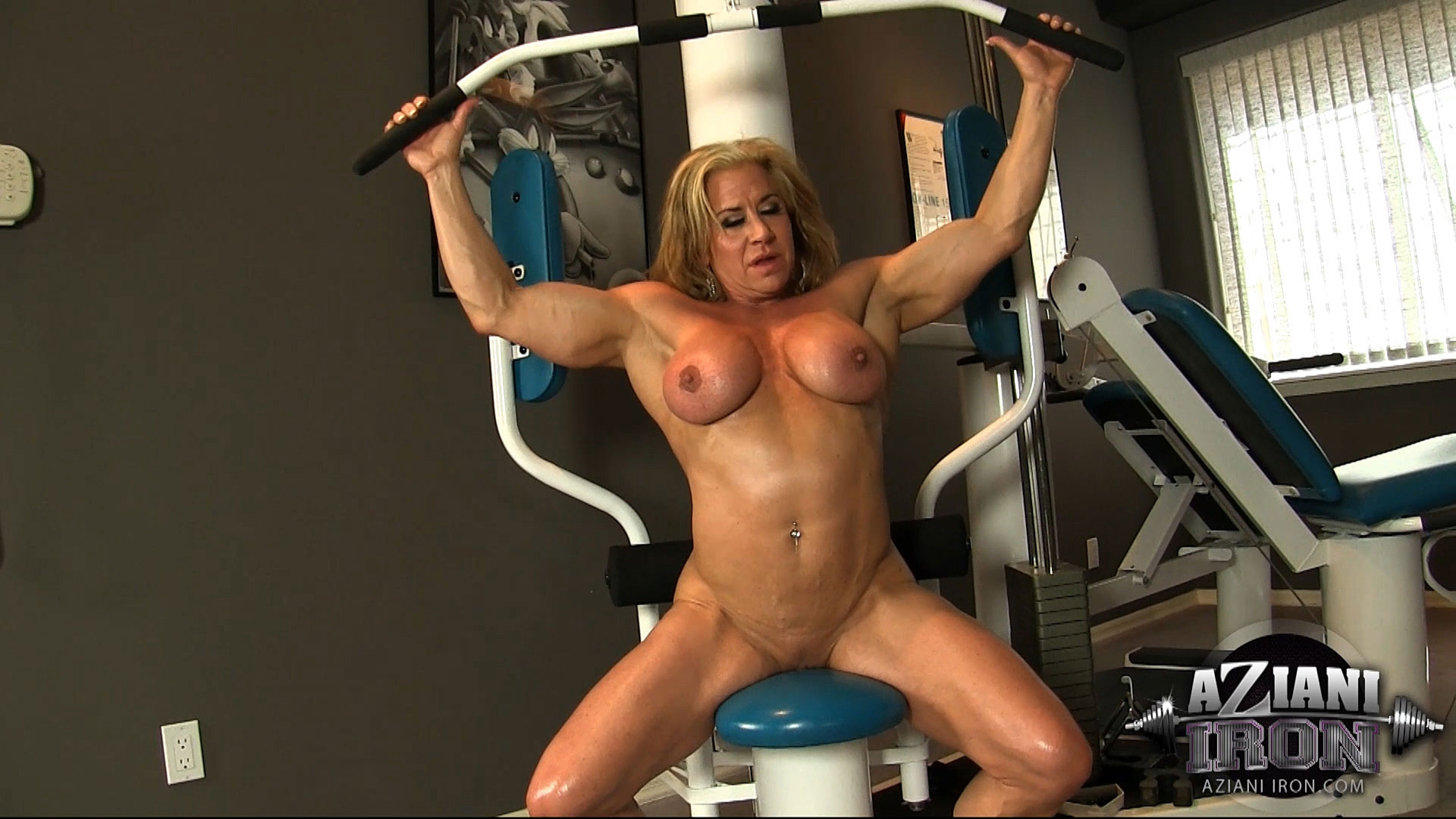 Touching Wanda moore bodybuilder nude pussy